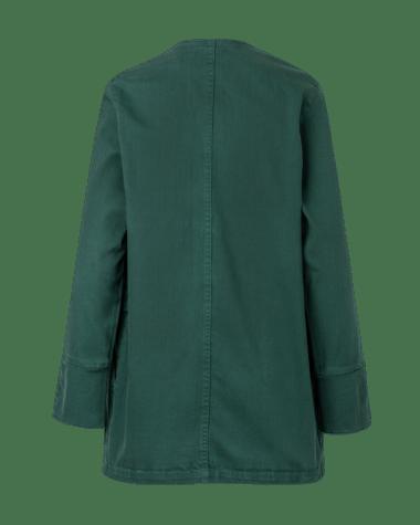 Peronblazer pinkfilosofy atemporal chaqueta verde posterior