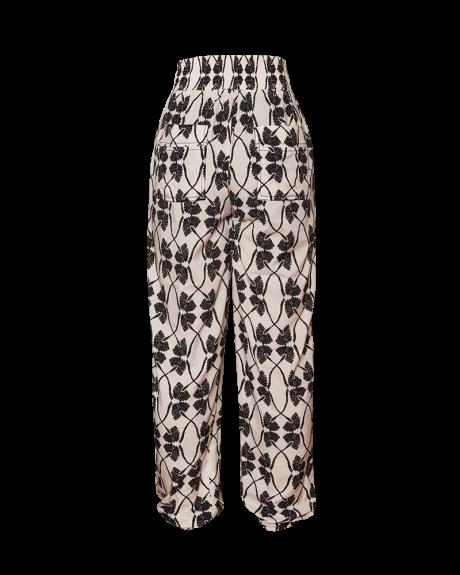 Dueropants pinkfilosofy newseed pantalon estampada ecru black posterior
